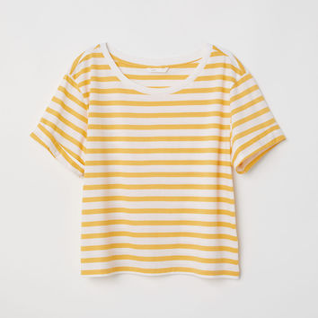H&M Wide-cut T-shirt $12.99