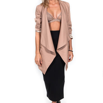 Working Girl Beige Blazer