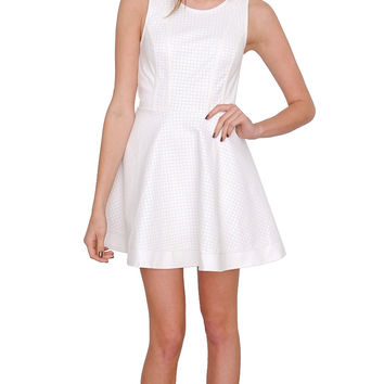 Perfect For You Dress White