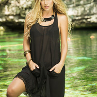 Lucky Pockets Beach Dress & Cover-Up