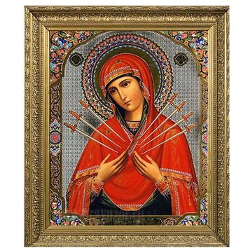 Diamond embroidery icons Religious Virgin Mary Diamond Painting Custom 5D DIY Beaded Embroidery Kits Cross Stitch 3D Images