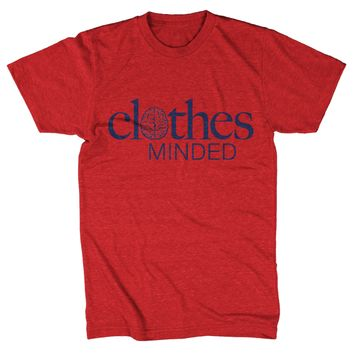 Clothes Minded Red T-shirt