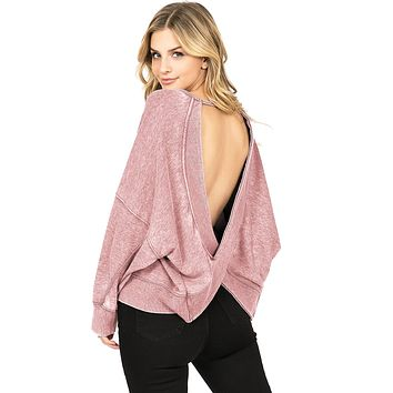 Eclipse Backless Sweater