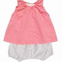 Go Gently Baby Girls Infant Summer Set
