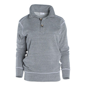 Jack- Women's Unisex 1/4 Button Pullover