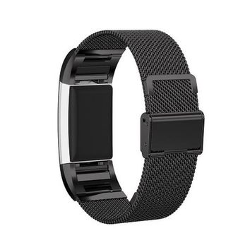Clasp Type Milanese Loop Stainless Steel Watchband For Fitbit Charge 2 Smart Bracelet Wrist Strap Adapter For Fitbit Charge 2