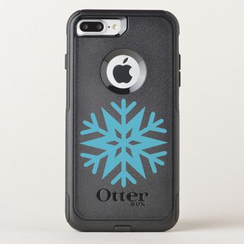 Snowflake OtterBox Commuter iPhone 8 Plus/7 Plus Case