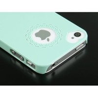 Amazon.com: Pandamimi Dexule Cute Girls Ultra-thin Ice Cream Glossy Hard Case Cover for iPhone 4, 4S - Mint Green: Cell Phones & Accessories