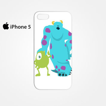 monsters inc mike and sully for Iphone 4/4S Iphone 5/5S/5C Iphone 6/6S/6S Plus/6 Plus 3D Phone case
