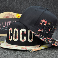 Retro COCO Cap Embroidery Hat Summer Gift 26