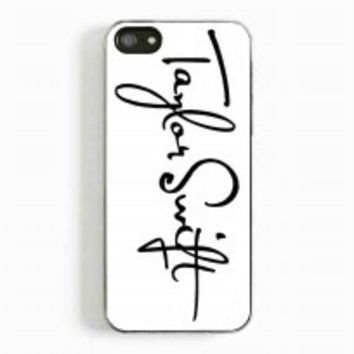 taylor Swift Font for iphone 5 and 5c case
