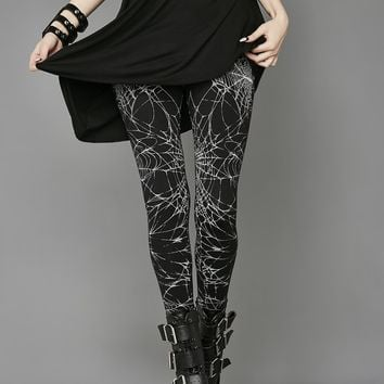 Raven's Night Leggings