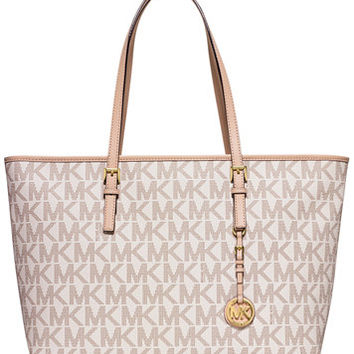 MICHAEL Michael Kors Jet Set Travel Medium Top Zip Multifunction Tote | macys.com