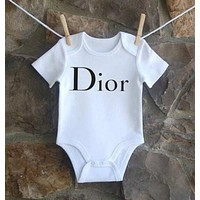 Gucci Dio Yves Saint Laurent Balenciaga Moschino Baby Onesuit-4