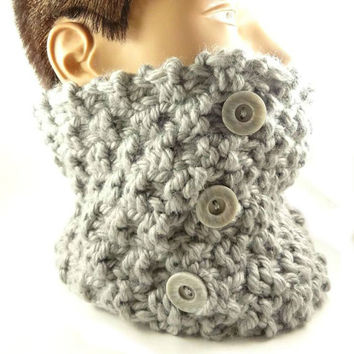 Hand Knit Scarf, Chunky knitted Cowl,  Winter Fashion scarf  Ready to ship