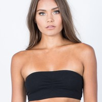 Go-To Bandeau Top