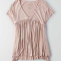 AEO Soft & Sexy Babydoll Tee, Light Blush