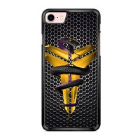 Kobe Bryant Gold iPhone 7 Case