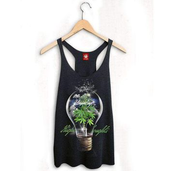 WOMEN'S HIGHER THOUGHTS RACERBACK