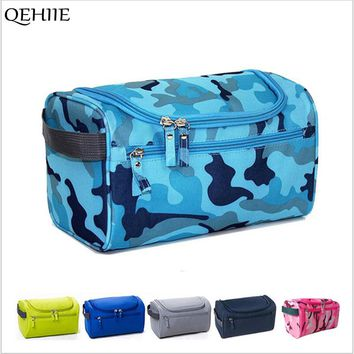 QEHIIE New Men And Women Travel Cosmetics Bags 20 Colors High-Quality Designer Large-Capacity organizer Makeup Bags Necessaries