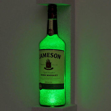 Jameson Irish Whiskey Wall Mount Sconce Bottle Lamp Light 50,000 hour Eco LED
