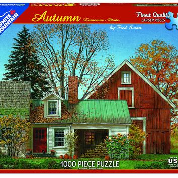 Autumn - 1000 Piece Jigsaw Puzzle