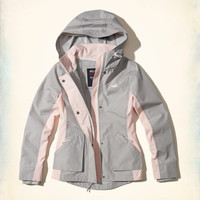 Girls Hollister All-Weather Nylon Jacket | Girls Jackets & Outerwear | HollisterCo.com