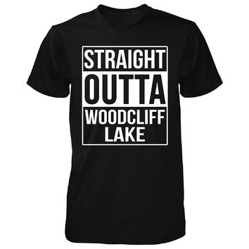 Straight Outta Woodcliff Lake City. Cool Gift - Unisex Tshirt