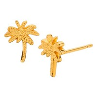 Women's gorjana Palm Tree Stud Earrings