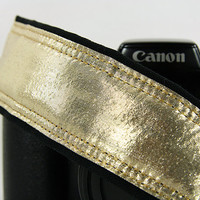Camera Strap, dSLR, Metallic, Purple, Gold, Bronze, Silver, Your choice of color, SLR, 182 w