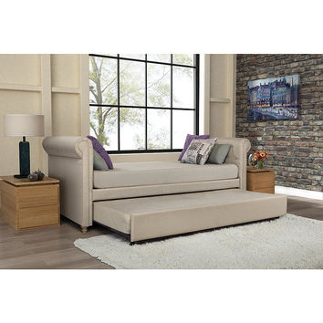 Dorel Home Furnishings Sophia Upholstered Daybed and Trundle
