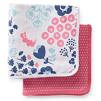 Carter's 2-Pack Swaddle Blankets - Pink/Multi