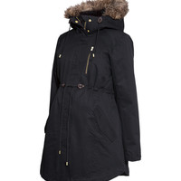 H&M - MAMA Padded Parka - Black - Ladies