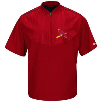 Majestic St. Louis Cardinals On-Field Cool Base Training Jacket