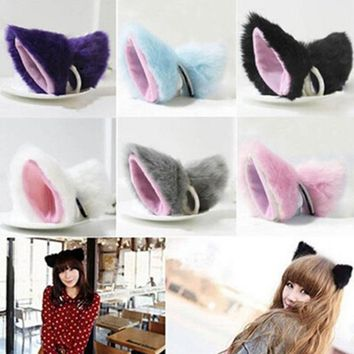 Newest Casual Trendy Beauty Hair Accessories Girls Practical  Headband Cat Ear