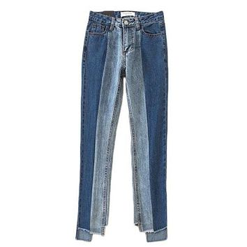 Two Tone Babe Jeans