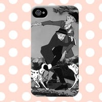 All Tied Up In Love - Disney 101 Dalmations iPhone 4/4s/5/5s/5C Case