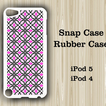 Seamless Pinky iPod Touch 5 and iPod Touch 4 Rubber Case or Plastic Case