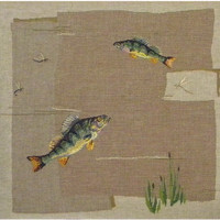 Fish French Cushion Cover