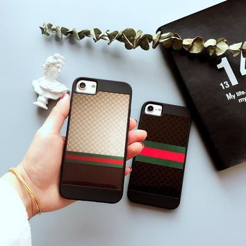GUCCI 2017 Hot ! iPhone 7 iPhone 7 plus - Stylish Cute On Sale Hot Deal Apple Matte Co