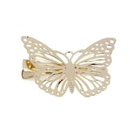 Hair Clips Hairpins Shiny Golden Butterfly Hair Clip Headband Hair Accessories Headpiece #2415