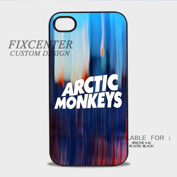 Arctic Monkeys Blue Paint - iPhone 4/4S Case