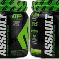 Buy One, Get One Free Muscle Pharm Assault Lemon Lime 30 Serving