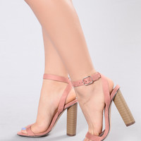 Simple And Sleek Heel - Rose