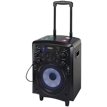 Jensen Portable Bluetooth Tailgate And Trolley Speaker