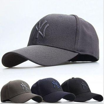 New York Yankees Authentic NY Baseball Cap Adjustment Snapback Sport Hip-hop Hat