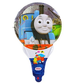 10pc thomas balloon children toys cartoon cheering thomas foil balloons for thomas party balloons