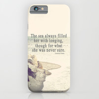 Filled with Longing iPhone & iPod Case by Rachel Burbee