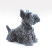 Wee Jock The Scottie Dog  Scented Candle by cherrybcandles on Etsy