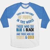 Those Who See Blue & Black And Those Who See White & Gold
